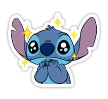 CUTE STITCH SPARKLE Sticker