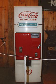 old coke machine - Topsfield Fair - Topsfield MA