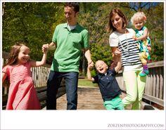 Greensboro Arboretum-Greensboro, NC: M Family Portrait