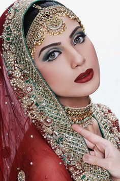 Bridal Jewelry & Embroidery  #indianwedding, #kimmie_1980