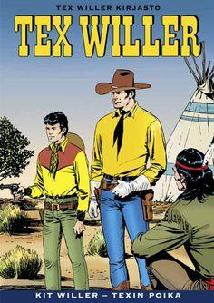 Tex Willer Kirjasto: Kit Willer - Texin poika
