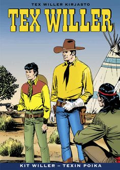 Tex Willer Kirjasto: Kit Willer - Texin poika
