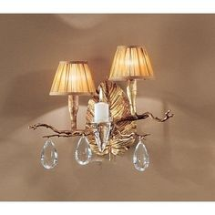 Classic Lighting 10022 14 Crystal Wallchiere from the Morning Dew Collection (Silver)