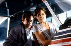 Licence To Kill (1989) Timothy Dalton and Carey Lowell
