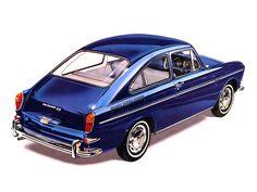 Volkswagen 1600 TS Fastback UK-spec (Typ 3) '1966–69