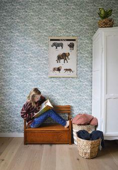 #Behangpapier #behang #wallpaper | Roomblush via Kinderkamerstylist.nl