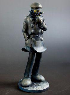 Samurai, Greek, Statue, Twitter, Greece, Sculptures, Samurai Warrior, Sculpture
