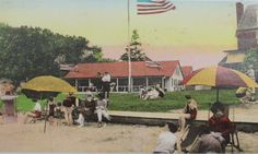 Groh's Tidewater Inn, Sayville, NY. Circa 1928