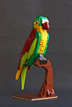 https://flic.kr/p/T2Dytu | Bird of Paradise | Ninth creation on Iron Builder against Jonas Kramm.