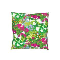沖縄の春をイメージしたデザインです。/うりずん クッション - TreeSparrowGarden