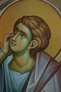 Iconographer Dimitris Maniatis – icoana Byzantine Art, Byzantine Icons, Writing Icon, Roman Mythology, Greek Mythology, Archangel Raphael, Peter Paul Rubens, Guardian Angels, Orthodox Icons