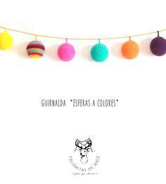 Esferas Crochet festão - Crochet - Malhas - 497 155