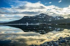 Featured artist Nice view towards the Malla fell in Kilpisjärvi - Gofinland. Flora And Fauna, Nice View, Finland, Wilderness, Norway, Beautiful Places, Road Trip, Landscapes, Europe