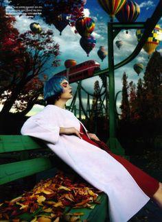 """Dreaming Christmas"": Drielle Valeretto for Noblesse Korea December 2012"