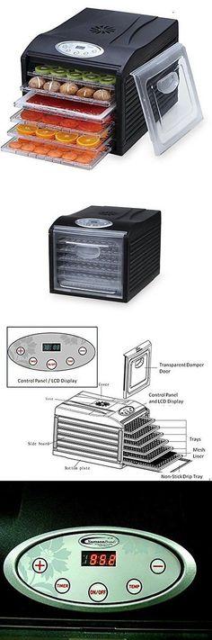 Samson Silent 6 Tray Dehydrator with Digital Controls 110 Volt