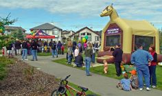 Family friendly events such as the  Cooper's Carnival have been the grassroots vision of Cooper's Crossing residents.   www.cooperscrossing.ca  #coopersairdrie