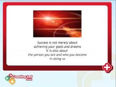 This CoachingSelf.com video on Success Coaching talks about success, dreams and goals, the obstacles to success and how CoachingSelf.com self coaching can support you with everything in one place to find your success. Success Coach, Positive People, Coaching, Finding Yourself, Inspirational Quotes, Positivity, Goals, Dreams, Training