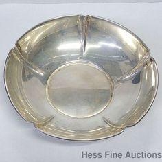 Arts Crafts Sterling Silver Randahl Deep Candy Bon Bon Dish Bowl #Randahl