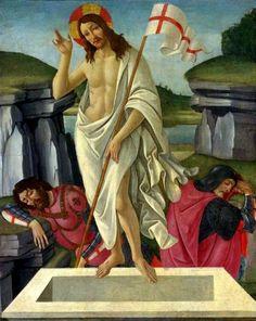 Sandro Botticelli - Resurrezione - c. 1490 - Fredericton, New Brunswick, Canada