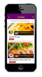 aplicacion chef a domicilio cookinhouse disponible en Android e IOS