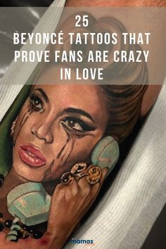 "25 Beyoncé Tattoos That Prove the Beyhive is in Formation  Queen inspires so many people in many different ways. Fans are showing their love with some incredible Beyoncé tattoos that are truly ""Irreplaceable.""  #Beyonce #QueenBey #tattoos"