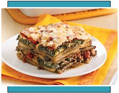 Edible Idol: Lasagna, Low-Calorie Frozen Lasagna, Guilt-Free Lasagna Recipes | Hungry Girl