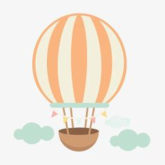 Hot Air Balloon Cartoon, Hot Air Balloon Clipart, Balloon Illustration, Cartoon Drawings, Pattern Wallpaper, Color Patterns, Wall Stickers, Party Themes, Balloons