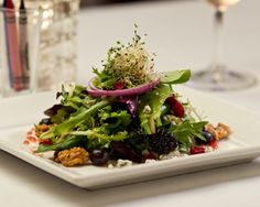 Enjoy this deliciously different salad from Charley G's in Lafayette.