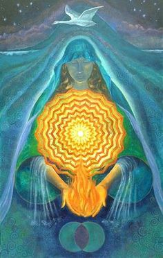 The universe was formed by sound/light vibrations.