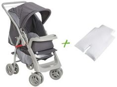 Carrinho de Bebê Passeio Galzerano Pegasus - com Bandeja para Crianças até 15 kg