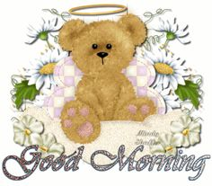 Good morning Teddy Bear Angel -- From Love This Pic - www.lovethispic.com