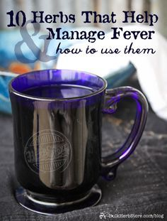 It's something we've all experienced. A fever is a friend and the sign of a healthy immune system. 10 Herbs That Help Manage Fever Natural Health Remedies, Natural Cures, Natural Healing, Holistic Healing, Natural Treatments, Healing Herbs, Medicinal Herbs, Herbal Plants, Herbal Teas