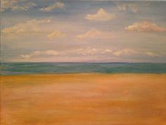 Beach Scene for Maggio Wine - (Acrylic) 11 x 14