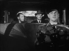 Peter Lorre, Steve Cochran and Robert Cummings in The Chase (1946) Directed by Arthur Ripley