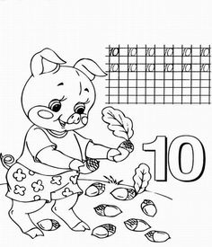 dlybabi.ru - Учим цифры Учимся писать цифры