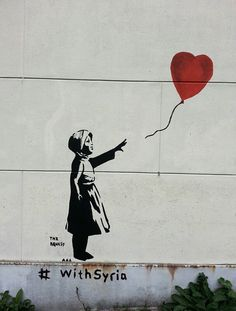 Banksy #amsterdam I actually saw this in person. It was pretty cool