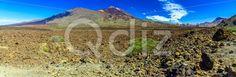 Qdiz Stock Images Teide Volcano Landscape on Tenerife,  #blue #Canary #cloud #island #landmark #landscape #mountain #national #natural #nature #panorama #park #peak #rock #sky #Spain #spring #summer #Teide #Tenerife #Travel #volcanic #volcano