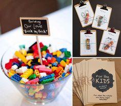Kolorowanki, klocki i zabawy dla dzieci na przyjęciu weselnym