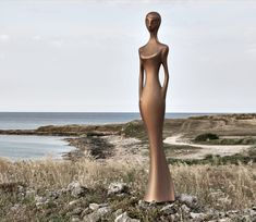 Indoor or outdoor sculpture Penelope by Myyour with OXIDIZED finish Outdoor Sculpture, House Colors, Indoor Outdoor, It Is Finished, Decorations, Elegant, Classic, Inspiration, Design