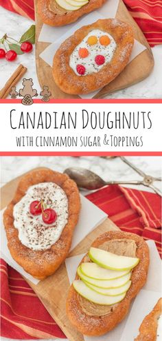 Canadian Beaver Tail Recipe Canadian Doughnuts - These cinnamon sugar-dusted doughnuts, shaped like a beaver tail, are a guilty pleasure and highly addictive. A fun homemade festival food for the whole family! #beavertail, #recipe, #canada #canadaday #easy ##cinnamonandcoriander #canadian,