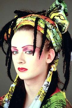 Boy George, Culture Club: 8/14/14 announcement of the band reforming some decades after hitting it big, all the scandals and arrests! Yay buddy!