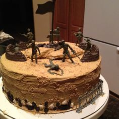 Ben wants this cake for his birthday! I see a whole Army party in my future... :)