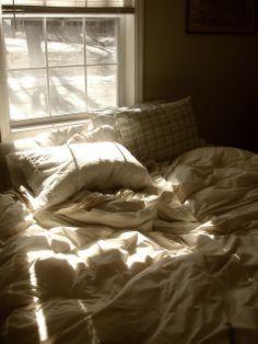 messy morning bed by Little Lentil Lil, via Flickr