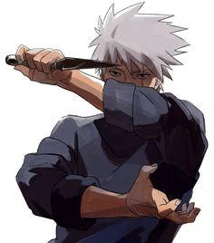 I don't see enough Kakashi on this sub [Naruto] Naruto Kakashi, Anime Naruto, Naruto Tumblr, Art Naruto, Naruto Boys, M Anime, Fanarts Anime, Naruto Gaiden, Sasuke Sakura