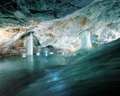 Dobšinská Ice Cave (UNESCO World Heritage Site - Caves of Aggtelek Karst and Slovak Karst), Slovakia Amazing Places On Earth, Beautiful Places To Visit, Wonderful Places, Bratislava, Heart Of Europe, Fantasy Places, Central Europe, Culture Travel, World Heritage Sites