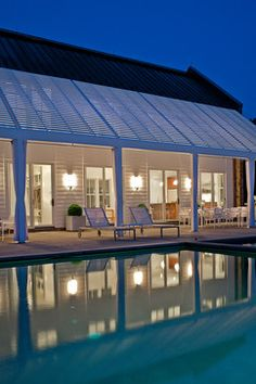 A Contemporary Barn - traditional - pool - richmond - Fraerman Associates Architecture