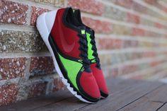 Nike Free Trainer 3.0 V4 Men Size 11.5 Round Toe Synthetic Shoe 749361 066 #Nike #RunningCrossTraining