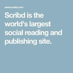 Scribd is the world's largest social reading and publishing site. Word Doc, Ramadan, Miranda July, Coran Islam, Book Sites, Pet Sitting, Document Sharing, Wing Chun, Kung Fu