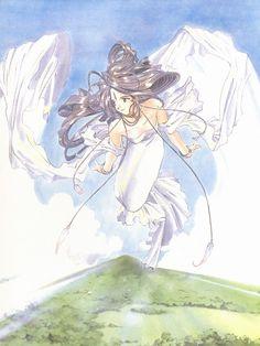 Kousuke Fujishima, Anime International Company, Ah! Megami-sama, Ah! My Goddess Postcard Book, Belldandy