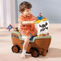 Little Tikes® Play 'n Scoot Pirate Ship - Sears | Sears Canada